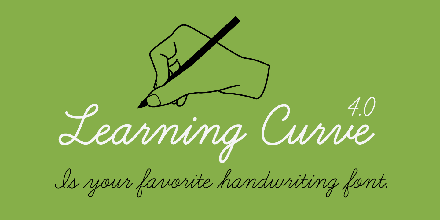 font-calligraphy-learning-curve-pro