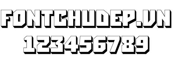 Download bộ font chữ 3D tuyệt đẹp | Font chữ đẹp